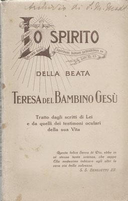 1925 Lo spirito della beata Teresina