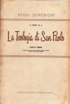 1924 La Teologia di San Paolo