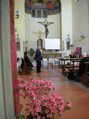 Prof. G. Aranci Direttore dell'Archivio Arciv. e Vicepreside della Facoltà teologica