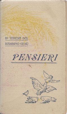 1935 (2a ed.), Pensieri [di S. Teresa di Gesù Bambino]