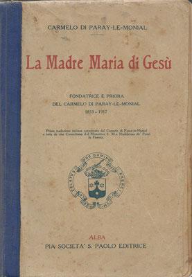 1927 la Madre Maria di Gesù