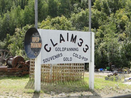 Touristen Claim  (Gold auf sicher)