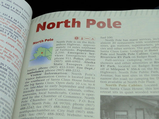 North Pole, Home of Santa Clause