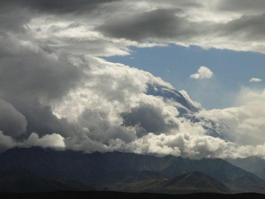 Flanke des Mt. McKinley