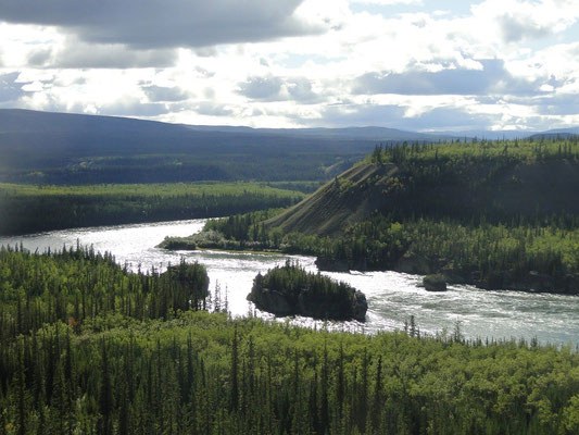 Five Finger Rapids im Yukon