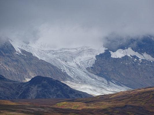 hier oben gibts dann auch wieder Gletscher