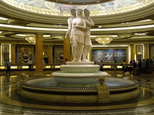 Rezeptions-Bereich im Caesars