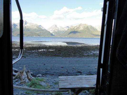 Campingsite direkt an der Bay