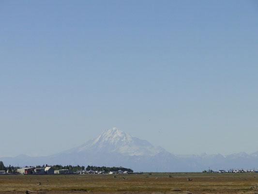 Mt. Iliamna von Soldotna aus gesehen