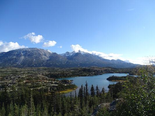 mit wunderschönen Seen