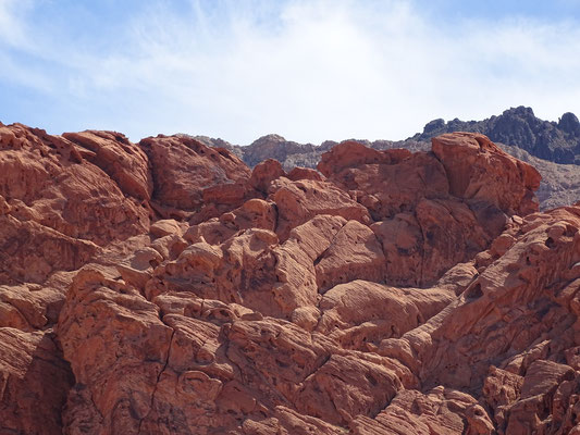Lake Mead National Recreation Area - Red Rocks