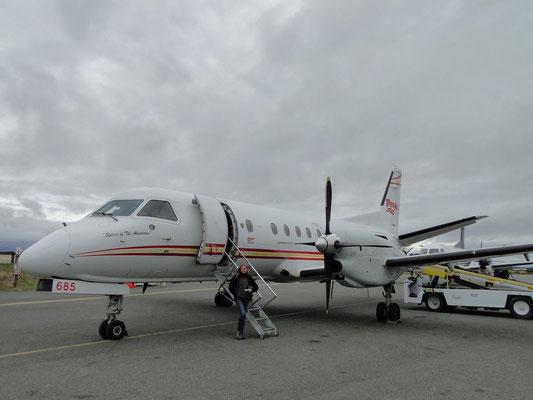Saab 340 - und das Ding fliegt tatsächlich