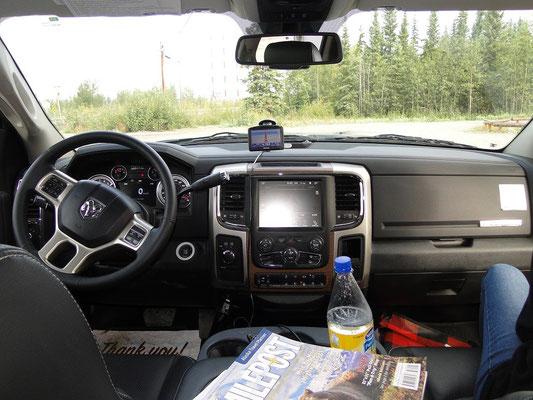 das Cockpit von Turtle 2
