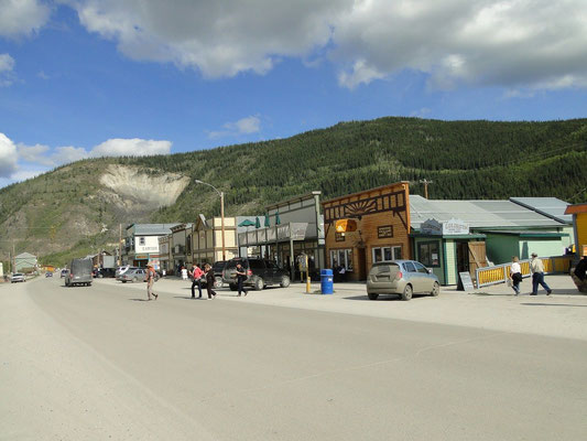 Dawson City Downtown