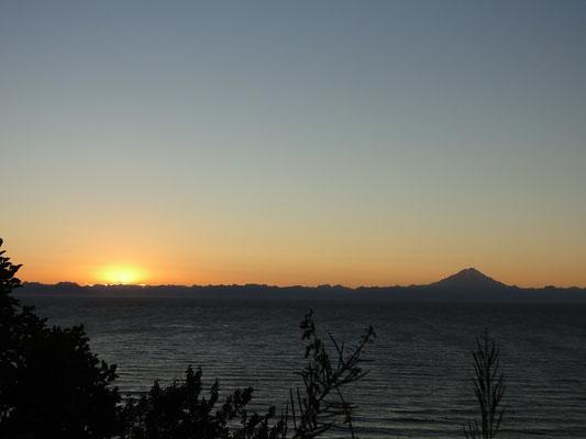 ist das nicht ein herrlicher Sonnenuntergang