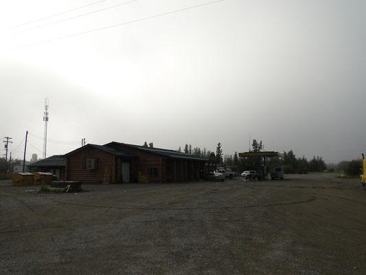 Gasstation im Outback