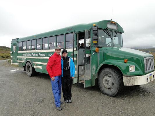 Nationalpark-Bus (Baujahr 2004, obwohl er älter aussieht)