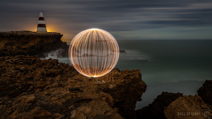 Ball of Light © Denis Smith Light Painting