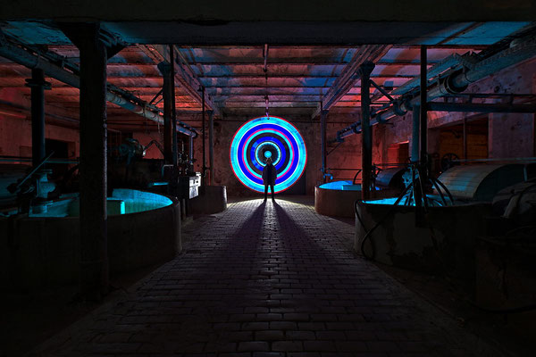 Nachtschicht - Light Art Photography & Light Painting