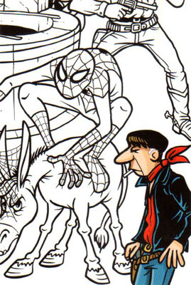 Cartolina Godega a fumetti 4