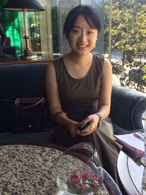 Cindy (onze medewerker Chongqing)