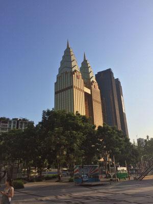 ...maar dat kan ook anders in Chongqing