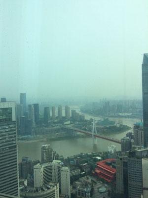 Smoggy Chongqing...