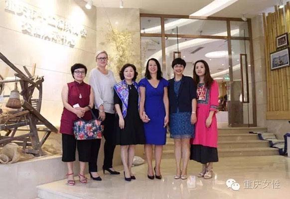 Ontvangst Womens Federation Chongqing