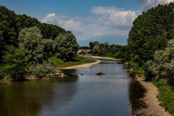 Il torrente ormai scorre placido