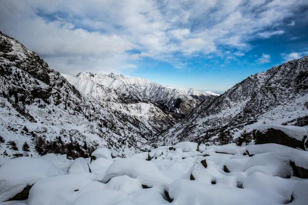 La rude Alta Valle Cervo dal Rifugio della Vecchia