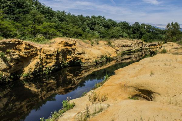 Il torrente Cervo e i suoi canyon verso Castelletto Cervo