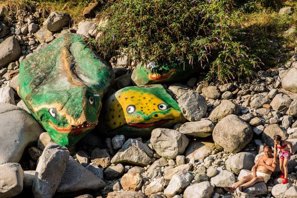 San Paolo Cervo attorno all'Asmara d'estate è una zona molto vissuta