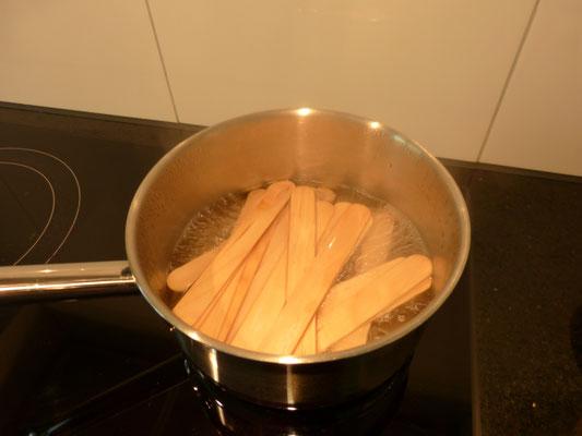 eine Stunde köchen lassen