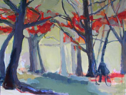 Herbstwald 160x120