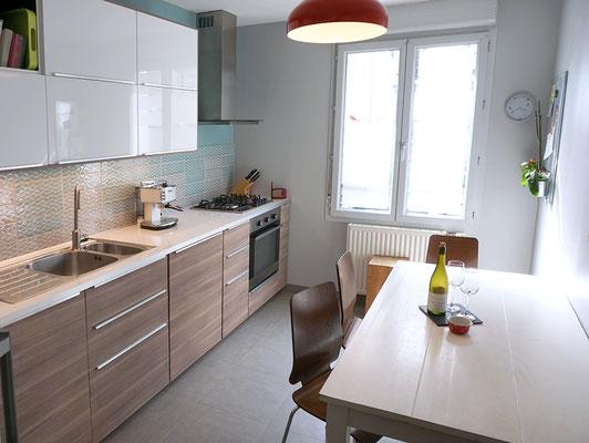 cuisine IKEA; Brokhult; Ringhult; chaises; Gilbert; Lyon; Quebec