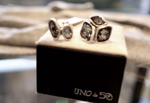 RING: (links) Uno de 50, 95,00 € - (rechts) 145,00 €