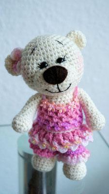 """Die kleine Schwester von Mr. Butterfly... Teddy 'line """"Fiore la Rosa"""" ;o)"""