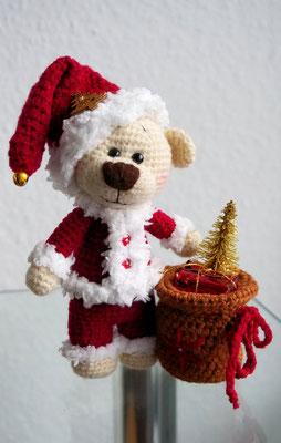 Weihnachtsteddy Mr. Mützenspitz