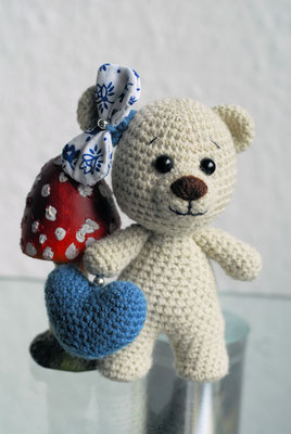 Teddyline mit Herz 16