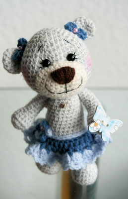 "Teddy Mr. Butterfly's kleine Teddy Freundin ""Little Sunny"""