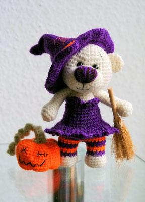 Halloween Teddy Pumpki