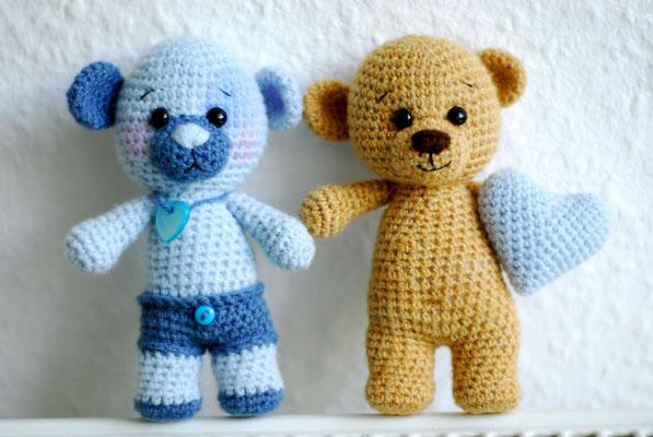 Teddy klein 29 mit Bärenm... -Bär ;o) 28
