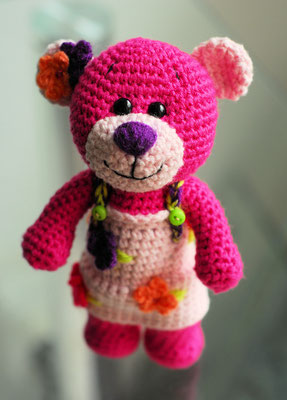 Teddy Pink Lady