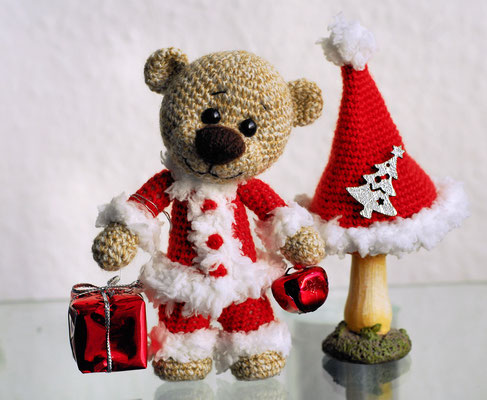 Kleiner Weihnachtsbär