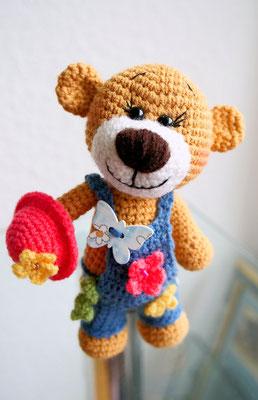 "Teddy Bär ""Fräulein Blümchen"""