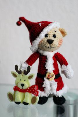 Weihnachts Teddy 46