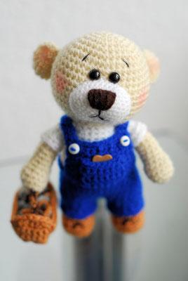 Dieser Montags Teddy Bär würde viel lieber bei Dir Zuhause bleiben... ;o)  '59