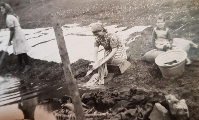 Bleichwiese nach dem Krieg