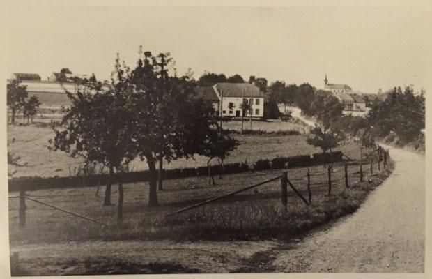 Weg von Grimbach nach Ammeldingen Ende der 50er Jahre