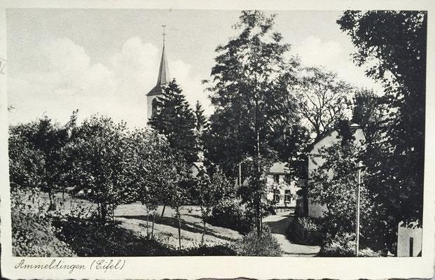 Alte Postkarte 1941